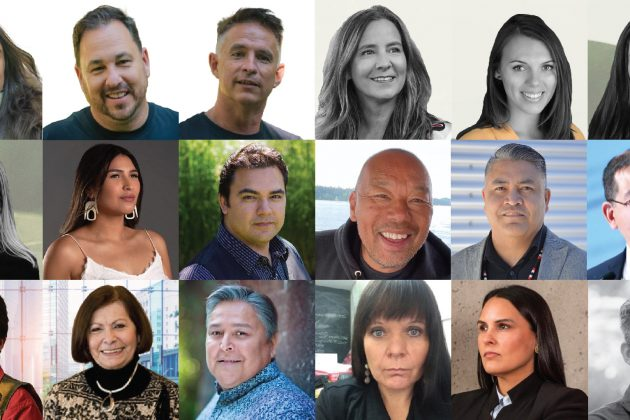 18 leaders from 10 organizations committed to regenerating Indigenous prosperity and facilitating economic reconciliation