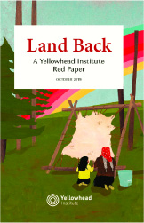 Land Back: A Yellowhead Institute Red Paper cover